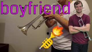 boyfriend ~ Ariana Grande ~ Trumpet Cover by Carter Miller