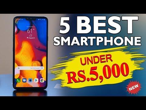 Best Smartphone Under 5000 [2019]