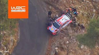 WRC - Rallye Monte-Carlo 2020: Highlights Stages 13-14