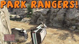 GTA 5 Online | We're Rangers! | with Gunner4568