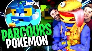 Le Meilleur Parcours Pokémon avec la Team Croûton sur Fortnite Créatif !