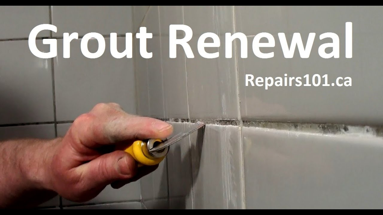 How To Make Your Bath Shower Surround Grout Look New Again