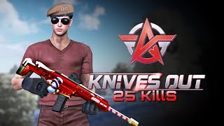 【Knives Out】Gameplay 25 kills DUO! Highlights