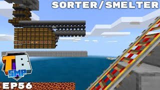 Gold Farm Sword Smelter And Storage! - Truly Bedrock Season 2 Minecraft SMP Episode 56