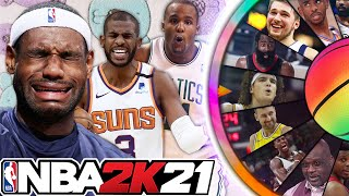 NBA 2K21 Wheel of Whiners