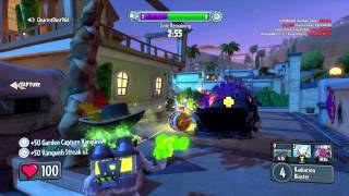 Plants Vs Zombies Garden Warfare Captain Sparkle Set - Dr Toxic