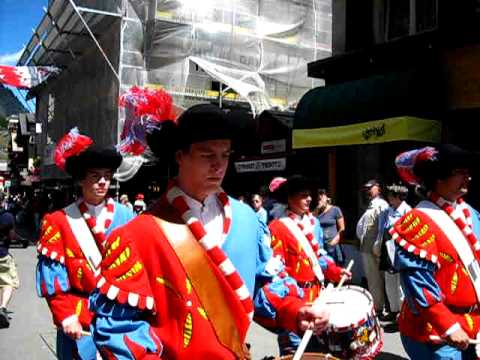 Schweizer Folklore Festival 9 Zermatt