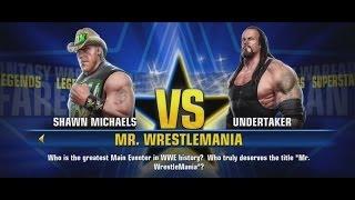 WWE All Stars Fantasy Warfare Part 15 Mr. Wrestlemania XBOX 360