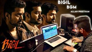 Bigil - Trailer BGM | Thalapathy Vijay | Allan Preetham