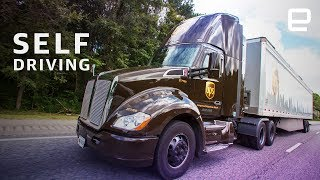 UPS self-driving delivery trucks are on the road
