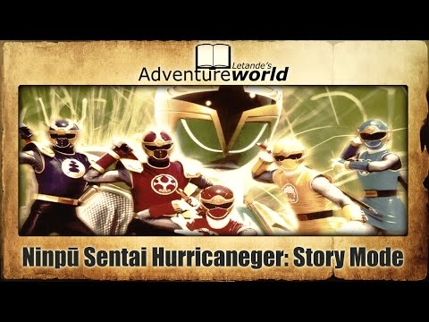 Ninpū Sentai Hurricaneger (忍風戦隊ハリケンジャー): Complete Story Mode Playthrough (PlayStation)