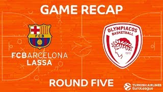 Highlights: FC Barcelona Lassa - Olympiacos Piraeus