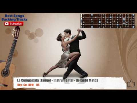 La Cumparsita (Tango) - Instrumental - Gerardo Matos Guitar Backing Track