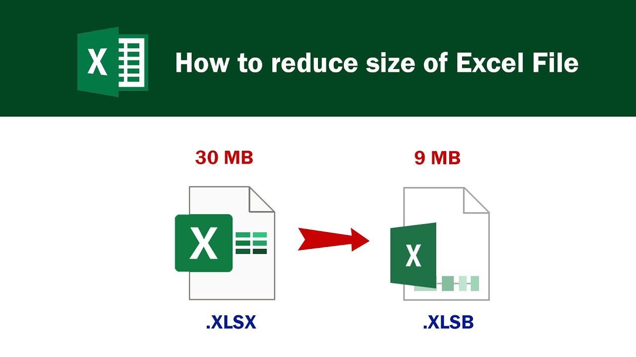 How to reduce size of Excel File by changing to XLSB File ...