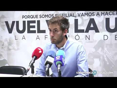 Rueda de prensa tras el Salmantino - Burgos Promesas