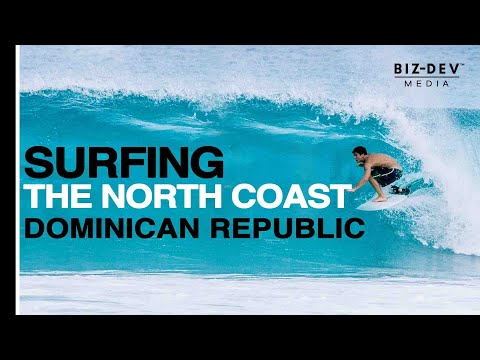 Surfing The North Coast, Dominican Republic by Biz-Dev Media