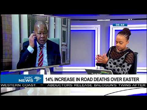 Transport minister concerned about the increase in the road crashes