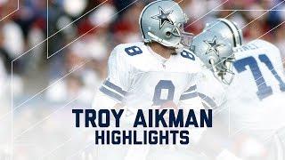 Troy Aikman Career Profile | NFL Legend Highlights