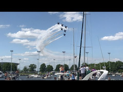 Bob Delmont - Blue Angels Practice for this weekend, here they are from last year