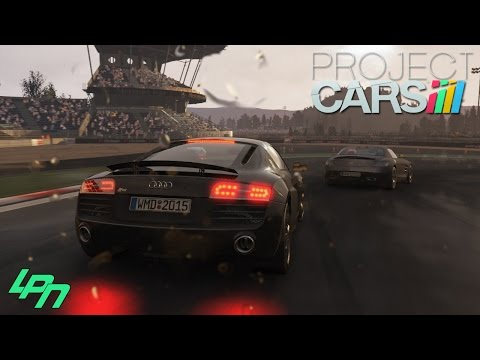 PROJECT CARS - Audi R8 V10 plus @ Nürburgring GP (Wheelcam/FullHD) / Lets Play Project CARS