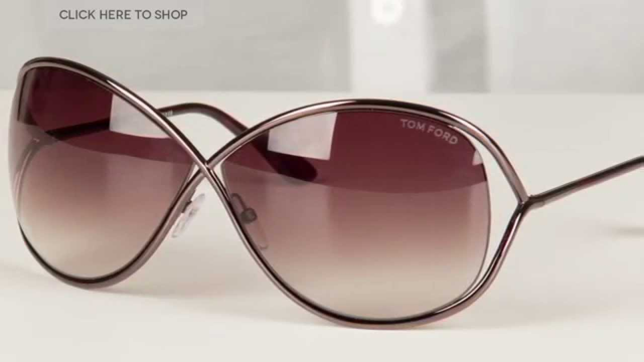 805615668f6 Tom Ford TF 0130 MIRANDA Sunglasses Review