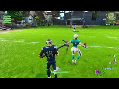Fortnite New Football Game-mode W/New NFL Skins