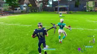Fortnite New Football Game-mode w/New NFL Skins