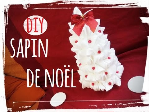 Diy no l sapin coton youtube - Sapin de noel diy ...