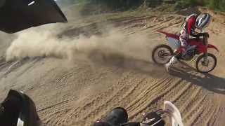 Видео №5. Покатушки эндуро. Enduro Honda xr 650r, CRF250R, JMC160, CZ500 и д.р. 2014 Южа