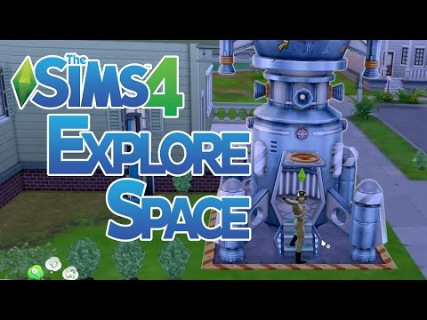 The Sims 4 How to do Space Missions and Explore Space - YouTube