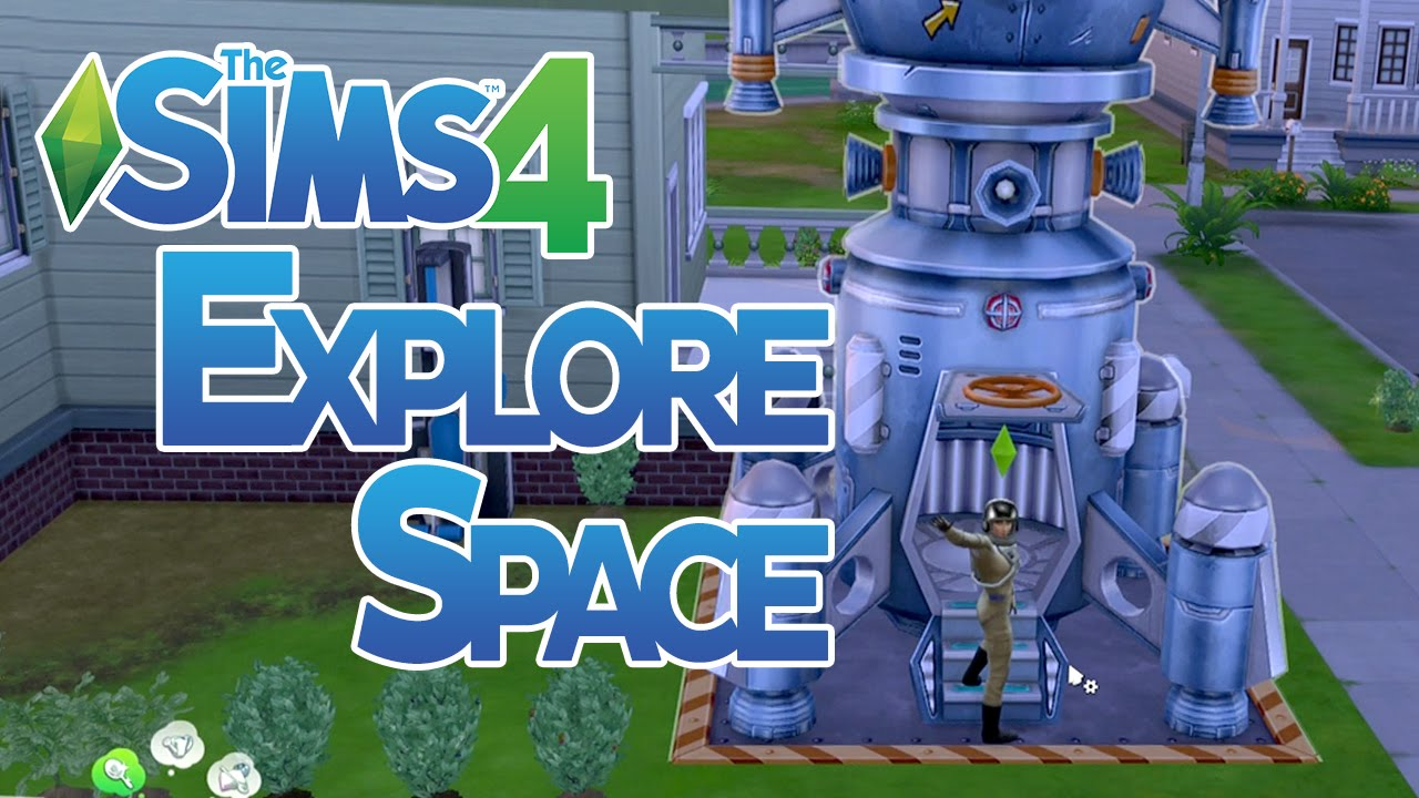 The Sims 4 How to do Space Missions and Explore Space