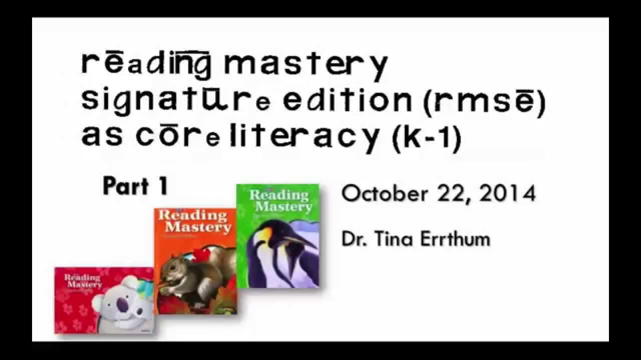 How to Teach Using Direct Instruction and Reading Mastery