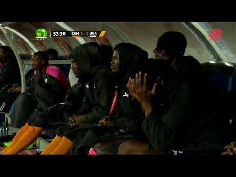 ZAMBIA VS UGANDA (FULLGAME 2ND HALF) 2018