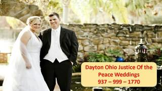 Dayton Ohio Justice of the peace weddings