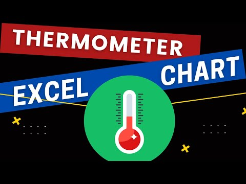 create an awesome thermometer chart in excel