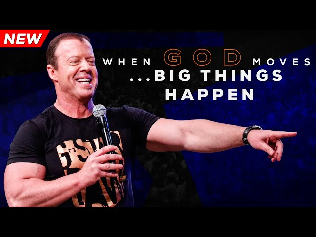 When God Moves ... Big Things Happen | Pastor At Boshoff | 18 August 2019 PM