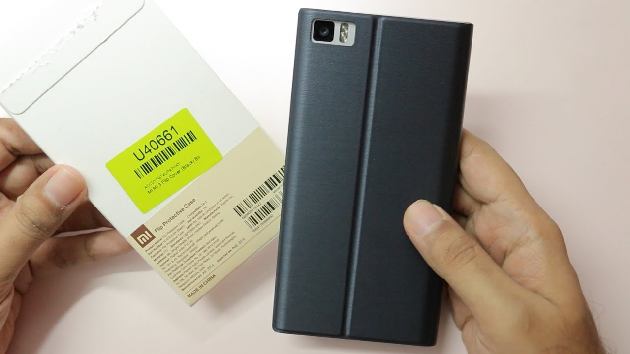 Xiaomi Mi3 Official Flip Cover Protective Case Unboxing Overview Rakkipanda Tempered Glass Screen Protector For Mi4i
