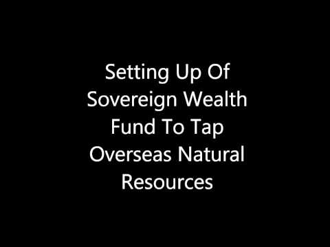 Setting Up Of Sovereign Wealth Fund By India