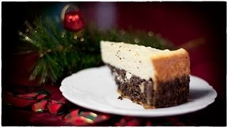Poppy Seed Cheesecake - Seromak - Christmas Menu Recipe #63
