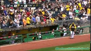 Brewers Vs Pirates Bench Clearing Brawl