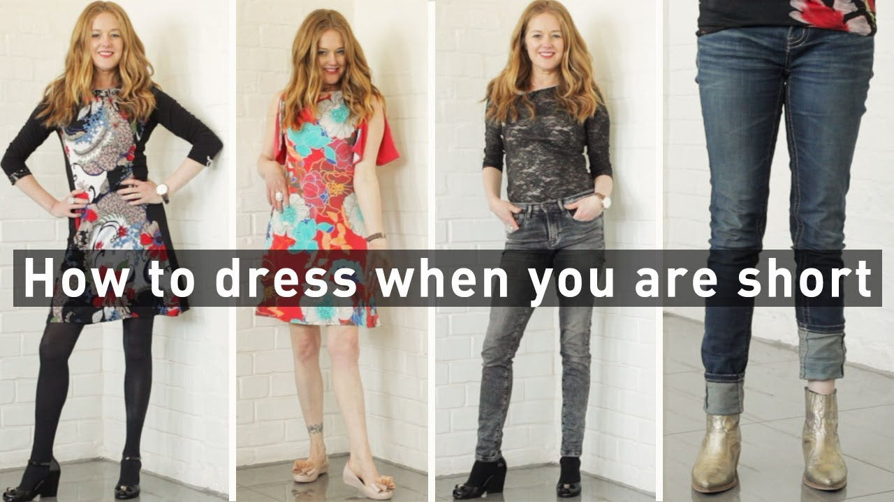 9203ae53083 How to dress when you are short for women over 40 - fashion for ...