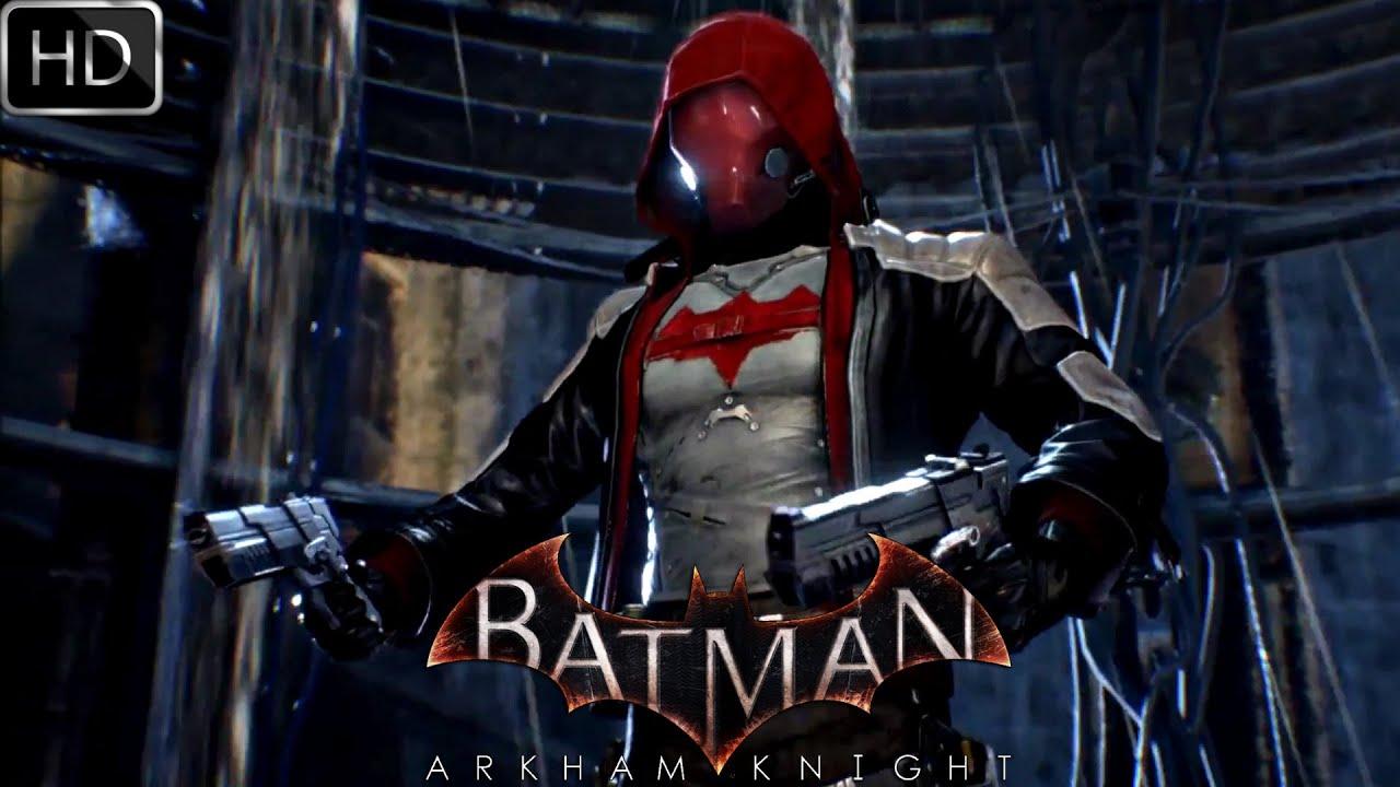 Live Wallpaper Iphone X Not Working Batman Arkham Knight Red Hood Gameplay Hd Youtube