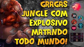 GRAGAS DE PREDATOR NA JUNGLE COM UM DANO EXPLOSIVO EM TODO MUNDO! - League of Legends | Dark 7#