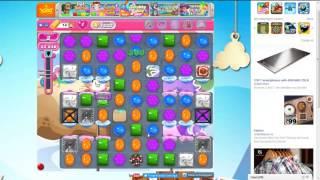 Candy Crush Saga Level 1633 in 2 Minutes