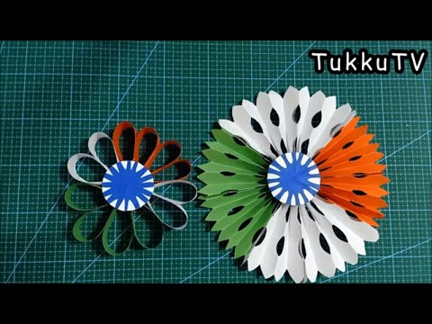 Republic Day Paper Craft For School Decoration   Independence Day Craft