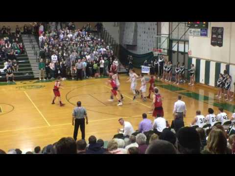 Spaulding boys basketball vs. Dover - January 26, 2017