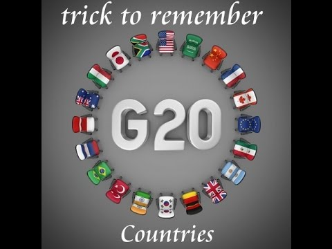 Trick To Remember G20 Countries