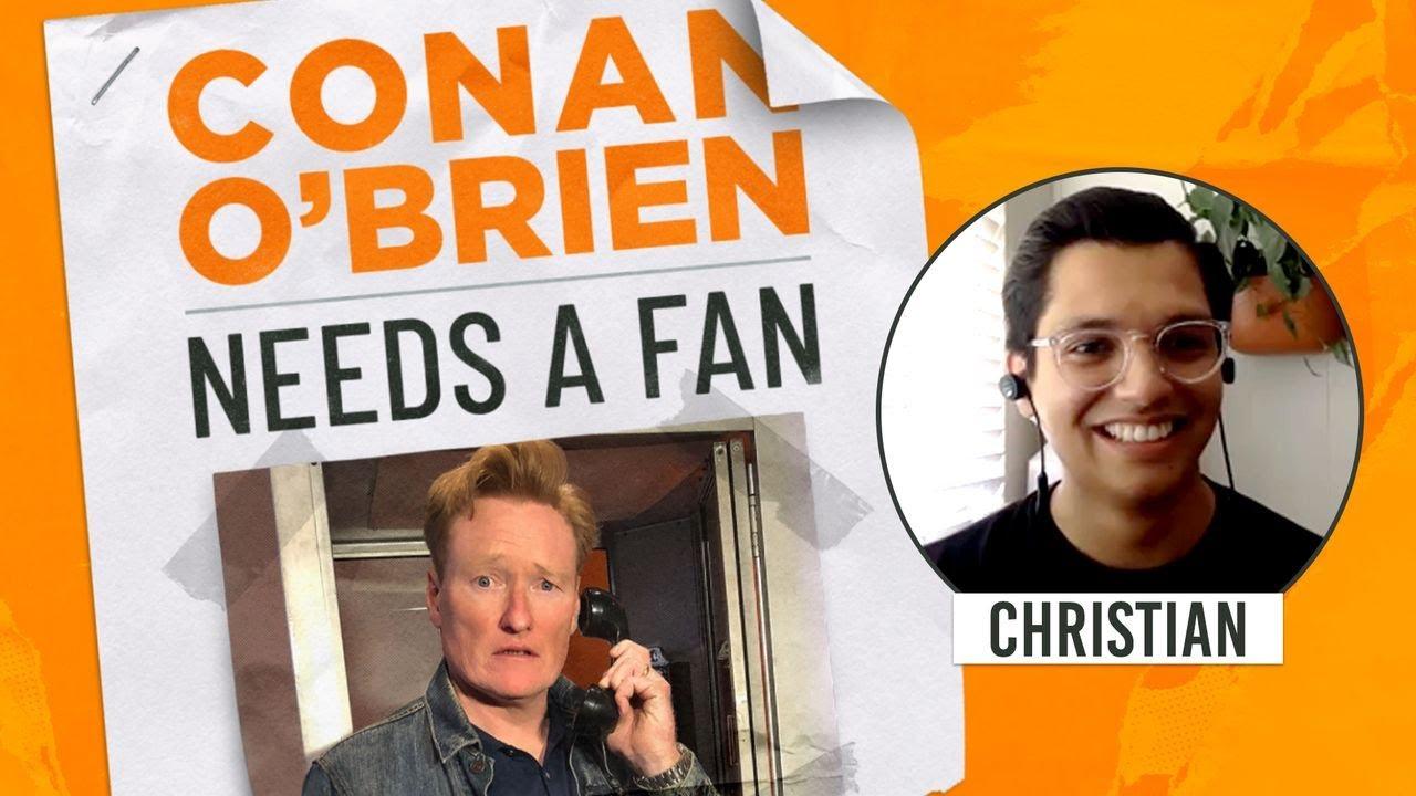 Conan Tries To Get A Fan To Teach Him How To Pick Locks   Conan O'Brien Needs a Fan