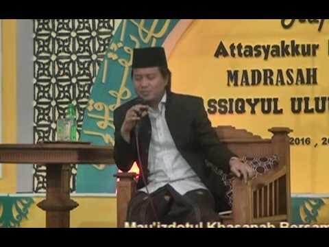 Gus Yusuf API Tegal Rejo Pengajian Umum DI Madrasah Diniyah Asiqyul Uluum Al Hajj