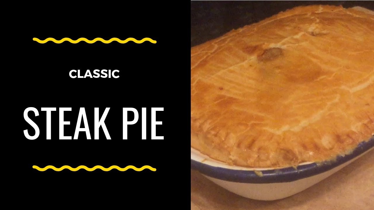 Classic Steak Pie recipe & Cook with me! - YouTube